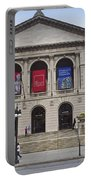 Art Institute West Facade Portable Battery Charger