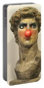 Art Is Serious Business Poster Portable Battery Charger