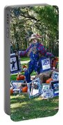 Artie Scarecrow Portable Battery Charger