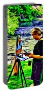 Artist Color Portable Battery Charger