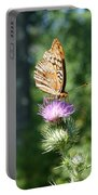 Artistic Butterfly Stand  Portable Battery Charger