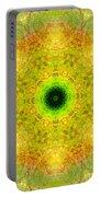 Moss Mandala Portable Battery Charger