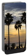 As The Sun Sets South Padre Island Texas Portable Battery Charger