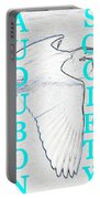 As Turquoise Text Portable Battery Charger