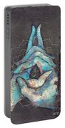 Ascension - Crown 'blue Hand' Chakra Mudra Portable Battery Charger