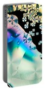 Ascorbic Acid Crystals In Polarized Light Portable Battery Charger