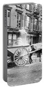 Ash Cart New York City 1896 Portable Battery Charger