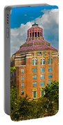 Asheville City Hall Portable Battery Charger by John Haldane