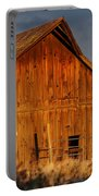 Ashland Barn In Evening Light Portable Battery Charger
