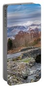 Ashness Bridge And Snow Capped Skiddaw Portable Battery Charger