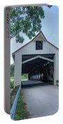 Ashtabula Collection - Mechanicsville Road Covered Bridge 7k0207 Portable Battery Charger