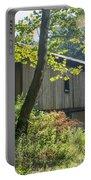 Ashtabula Collection - Olin's Covered Bridge 7k01977 Portable Battery Charger
