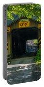 Ashtabula Collection - Olin's Covered Bridge 7k01978 Portable Battery Charger