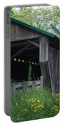 Ashtabula Collection - Riverdale Road Covered Bridge 7k02981 Portable Battery Charger
