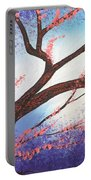 Asian Bloom Triptych 1 Portable Battery Charger