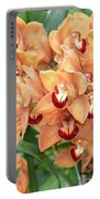 Asian Corsage Orchid Portable Battery Charger