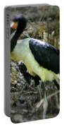 Asian Stork With Message Portable Battery Charger