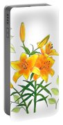 Asiatic Hybrid Lily Portable Battery Charger