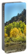 Aspen Grove In The Fall Portable Battery Charger