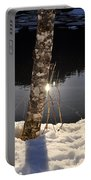 Alder In Winter Portable Battery Charger