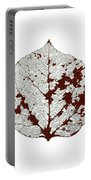 Aspen Leaf Skeleton 2 Portable Battery Charger