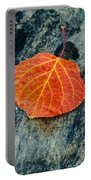 Aspen Leaf  Portable Battery Charger