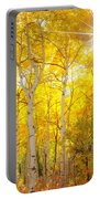 Aspen Morning Portable Battery Charger by Darren  White