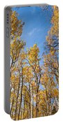 Aspen Trees In The Fall Portable Battery Charger