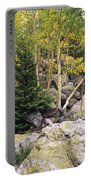 Aspens From Rocks Portable Battery Charger