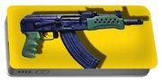 Assault Rifle Pop Art - 20130120 - V2 Portable Battery Charger