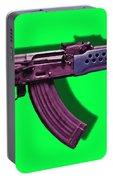 Assault Rifle Pop Art - 20130120 - V3 Portable Battery Charger