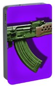 Assault Rifle Pop Art - 20130120 - V4 Portable Battery Charger