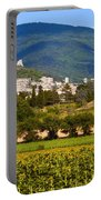 Assisi From The Sunflower Fields Portable Battery Charger