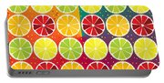 Assorted Citrus Pattern Portable Battery Charger