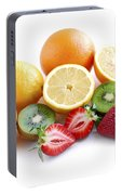 Assorted Fruit Portable Battery Charger