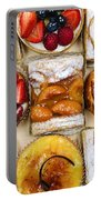 Assorted Tarts And Pastries Portable Battery Charger