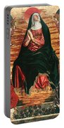 Assumption Of Mary With Sts Minias And Julian Portable Battery Charger