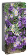Asters Light And Dark Portable Battery Charger