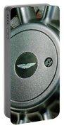 Aston Martin Db7 Wheel Emblem Portable Battery Charger