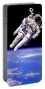 Astronaut In Space Portable Battery Charger