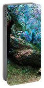 At Home In Her Forest Keep - Pacific Northwest Portable Battery Charger