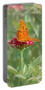 At Rest - Gulf Fritillary Butterfly Portable Battery Charger