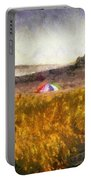At The Beach Photo Art 01 Portable Battery Charger