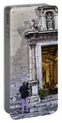 At The Church - Child's Curiosity - Sicily Portable Battery Charger