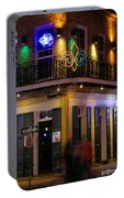At The  Club On Bourbon Portable Battery Charger