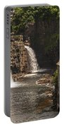 At The Falls In Ausable Ny Portable Battery Charger