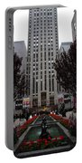 At The Rockefeller Center Portable Battery Charger