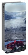 1m3734-athabasca Glacier W Original Icefields Chalet Portable Battery Charger
