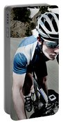 Athletic Male High Speed Cycling Portable Battery Charger