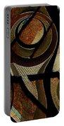 Atlanta Earth Abstract Art Portable Battery Charger